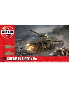 Airfix 02341 Sherman Firefly 1/72 Scale Plastic Model Kit