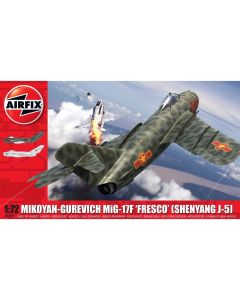 Airfix 03091 Mikoyan-Gurevich MiG-17 'Fresco' 1/72 Scale Plastic Model Kit