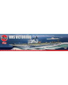 Airfix 04201V British Aircraft Carrier Victorious 1/600 Scale Plastic Model Kit