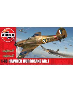 Airfix 05127A Hawker Hurricane Mk.1 1/48 Scale Plastic Model Kit