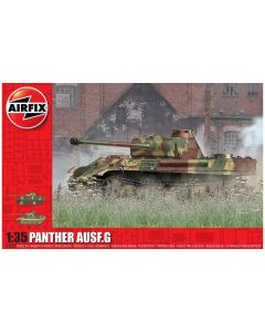 Airfix 1352 WWII German Panther Ausf.G 1/35 Scale Plastic Model Kit
