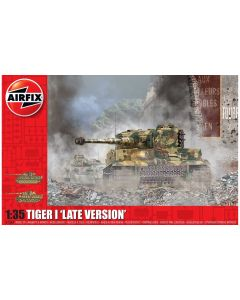 Airfix 1364 WWII German Tiger I Late Production Version 1/35 Scale Model Kit