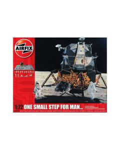Airfix 50106 Moon Landing 'One Small Step for Man' 1/72 Scale Model Gift Set