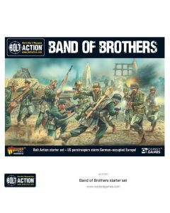 Bolt Action 'Band Of Brothers' 28 mm Scale Military Wargaming WWII Starter Set