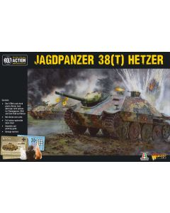 Bolt Action German Jagpanzer 38(t) Hetzer 1/56 Scale Military Wargaming Kit