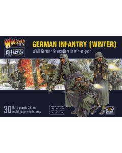 Bolt Action Winter German Infantry Multipose Hard Plastic 28 mm Miniatures