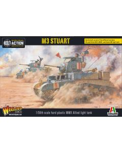 Bolt Action Allied M3 Stuart 1/56 Scale Military Wargaming Kit