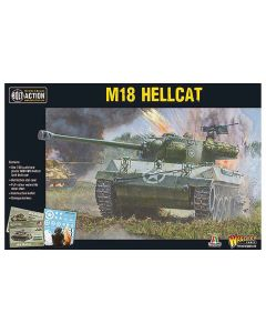 Bolt Action M18 Hellcat Tank Destroyer 1/56 Scale Military Wargaming Model Kit