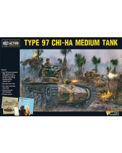 Bolt Action Japanese Chi-Ha Tank 1/56 Scale Military Wargaming Kit