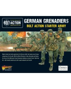 Bolt Action German Grenadiers Starter Army Multipose Plastic 28 mm Miniatures