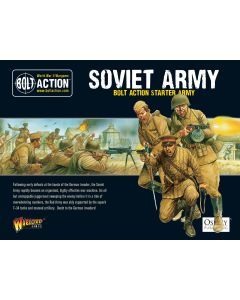 Bolt Action Soviet Starter Army Multipose Hard Plastic 28 mm Miniatures