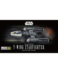 Bandai 2344776 Star Wars Y-Wing Starfighter 1/144 Scale Plastic Model Kit