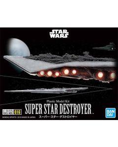 Bandai 2475034 Star Wars Super Star Destroyer Scale Plastic Model Kit