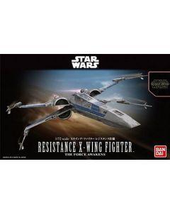 Bandai 2378863 Star Wars Resistance X-Wing 1/72 Scale Plastic Model Kit