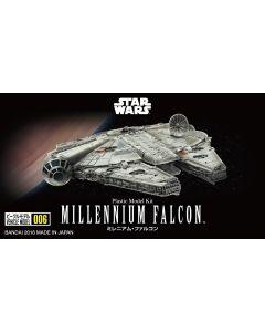 Bandai 210501 Star Wars Millennium Falcon 1/350 Scale Plastic Model Kit