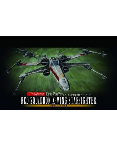 Bandai 210522 Star Wars Red Squadron X-Wing 1/72 & 1/144 Scale Model Kits