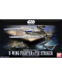 Bandai 212184 Star Wars U-Wing, TIE Striker & Combat Vehicles 1/144 Scale Kits