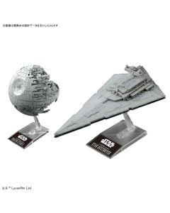 Bandai 230358 Star Wars Death Star II & Star Destroyer Scale Plastic Model Kits
