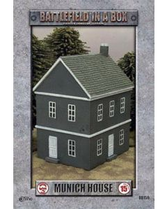 Battlefront BB159 European House Muenich WWII 15mm Scale Gaming Miniature