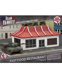 Battlefront BB207 Fast Food Restaurant Scale Gaming Miniature