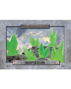 Battlefront BB544 Warped Stone Green (6) 30mm Scale Gaming Miniature
