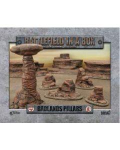 Battlefront BB567 Badlands Pillars Mars (5) 30mm Scale Gaming Miniature