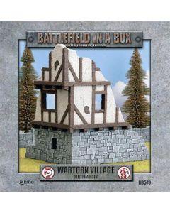 Battlefront BB573 Wartorn Village Medium Ruin Scale Gaming Miniature