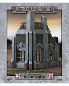 Battlefront BB598 Gothic Industrial Medium Corner 30mm Scale Gaming Miniature