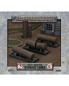 Battlefront BB601 Gothic Industrial Tanks (4) 30mm Scale Gaming Miniature
