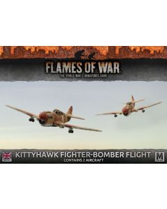 Battlefront BBX46 Kittyhawk Fighter-Bomber Flight (2 Aircraft) Gaming Miniatures