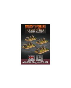 Battlefront BBX50 Airborne 75mm Light Troop (4 Gun) Plastic Gaming Miniatures