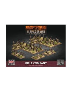 Battlefront BBX53 Rifle Company Plastic Gaming Miniatures