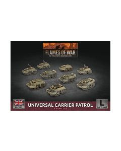 Battlefront BBX55 Universal Carrier Patrol (9 Vehicles) Gaming Miniatures