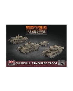 Battlefront BBX56 Churchill Armoured Troop Plastic Gaming Miniatures