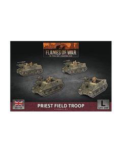 Battlefront BBX64 Priest Field Troop (4 SP Guns) Plastic Gaming Miniatures