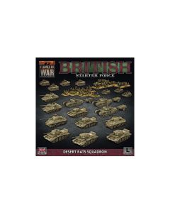Battlefront BRAB13 British Starter Force: Desert Rats Squadron Gaming Miniatures