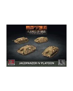 Battlefront GBX151 Jagdpanzer IV Tank-Hunter Platoon (4 TDs)  Gaming Miniatures