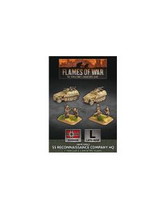 Battlefront GBX153 Armoured SS Reconnaissance Company HQ Gaming Miniatures