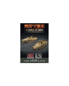 Battlefront GBX156 SdKfz 251 Flamethrower Platoon (2 Vehicles) Gaming Miniatures