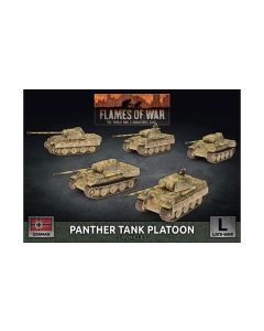 Battlefront GBX161 Panther A Tank Platoon (5 Tanks) Plastic Gaming Miniatures