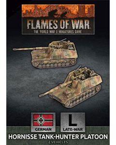 Battlefront GBX162 Hornisse Tank-Hunter Platoon (2 Vehicles) Gaming Miniatures
