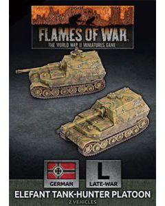 Battlefront GBX163 Elefant Tank-Hunter Platoon (2 Vehicles) Gaming Miniatures
