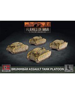 Battlefront GBX164 Brummbar Assault Tank Platoon (4 Vehicles) Gaming Miniatures