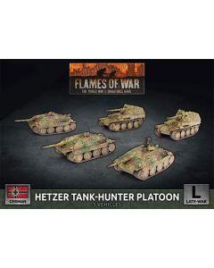 Battlefront GBX167 Hetzer Tank-Hunter Platoon (5 Vehicles) Gaming Miniatures