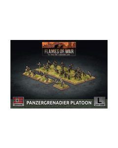 Battlefront GBX169 Panzergrenadier Platoon Plastic Gaming Miniatures