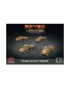 Battlefront GBX172 Puma Scout Troop (4 Vehicles) Plastic Gaming Miniatures