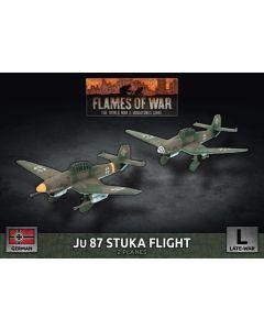 Battlefront GBX173 Ju87 Stuka Flight (2 Aircraft) Plastic Gaming Miniatures