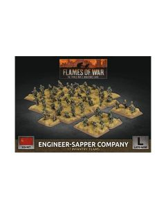 Battlefront SBX67 Engineer-Sapper Company (17 Infantry Teams) Gaming Miniatures