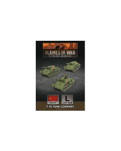 Battlefront SBX68 T-70 Tank Company (3 Tanks) Plastic Gaming Miniatures