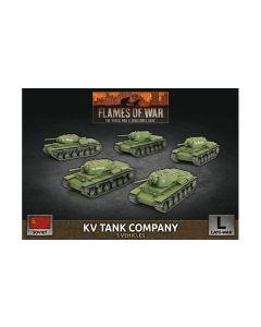 Battlefront SBX73 KV Tank Company (5 Tanks) Plastic Gaming Miniatures